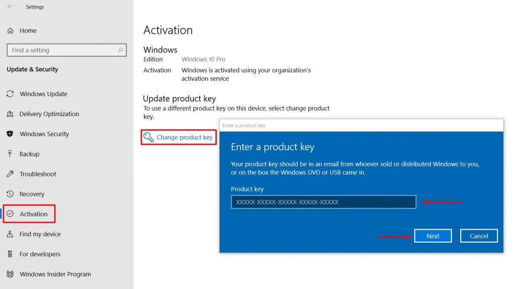فعال سازی ویندوز 10 - فعال یاز Windows 10